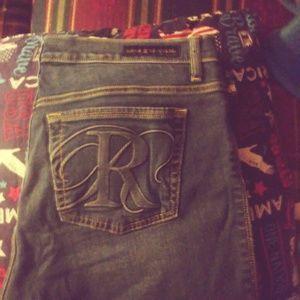 Rock and Republic capri jeans